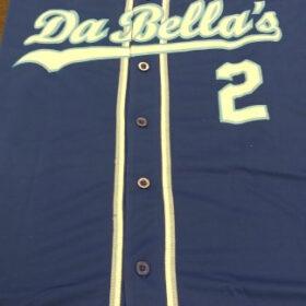 Custom Royal White-Light Blue Baseball Jersey photo review