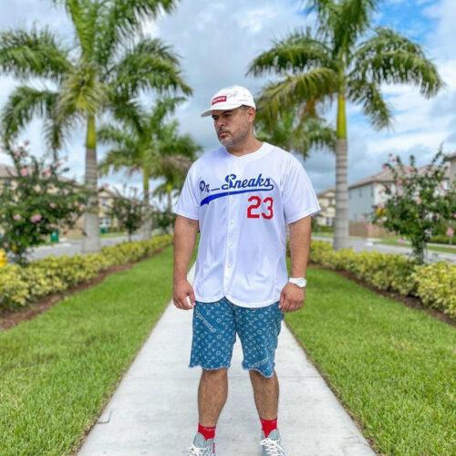 Custom White Royal-Red Baseball Jersey photo review